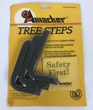 Tree-steps Screws Hunting Tree Stand 3 Piece Carbon Steel Hinged Folds