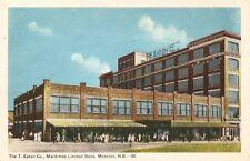 Postcard New Brunswick Moncton T. Eaton Co. ca1920s-30s Unused NrMINT PECO