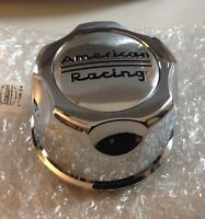 American Racing Snap In CHROME Wheel Rim Center Hub Cap 1342100000