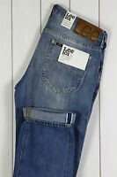 NEW LEE 101S 13Oz SELVAGE DENIM JEANS SLIM TAPERED  LIGHT BLUE LUKE -All Sizes-