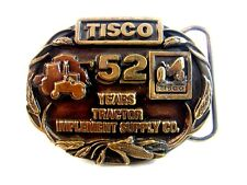 Vintage TISCO 52 Years All Makes All Parts  Belt Buckle