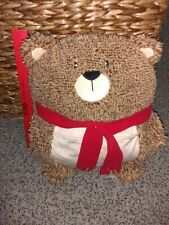 Avon Uk Soft Cute Teddy Bear Tv Remote Sofa Tidy Organizer Plush Storage Pillow