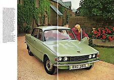 Rover 2000 P6 Series 2 1972-73 UK Market Sales Brochure SC TC