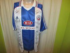 "Hansa Rostock Adidas Heim Trikot 1999/00 ""KIA MOTORS"" + Handsigniert Gr.XXL Neu"