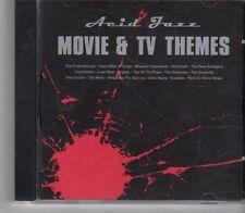 (FX289) Acid Jazz Movie & TV Themes - 1997 CD