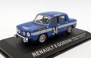 Altaya 1/43 Scale AL121219R - Renault 8 Gordini - Portugal Rally 1967