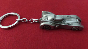 BATMOBILE METAL KEYRING - in a Silver Colour by Tomica