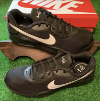 Nike Men's Air Max Oketo AQ2235-010 Black White Running Shoes Brand New With Box