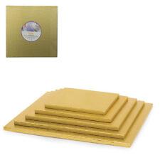 UNDER-KUCHEN QUADRATISCH SCHMÜCKT CAKEBOARD GOLD IN KARTON H1,2 CAKE BOARD