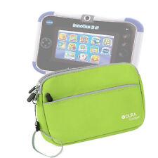 Lime Green Neoprene Carry Case Cover Sleeve For Kids Vtech Innotab 3S Plus / 3S