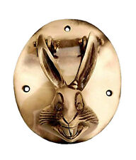 Golden Rabbit Shape Antique Vintage Finish Handmade Brass Door Bell Knocker Knob