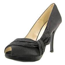 Sandali e scarpe nere zeppa sintetico per il mare da donna