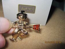 Vintage BEAUTIFUL SCARECROW BOY PIN..1992..EXTREMELY RARE.......by Avon #475