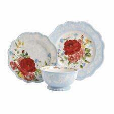 The Pioneer Woman Sweet Rose 12 Piece Dinnerware Set Dinner Plate Salad Bowl NEW