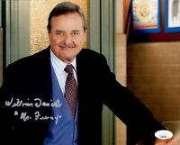 William Daniels Signed Mr. Feeny BOY MEETS WORLD 8x10 Photo Autograph JSA COA