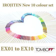 Tombow : IROJITEN 10 New colour pencil set