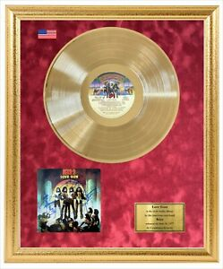 Kiss Signed Album Cover Photo & Vinyl Framed Display