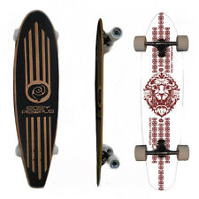 Easy People Longboards  PT-2 Pintail Widetail Longboard Complete Deck Lion