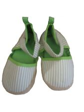 Sterntaler Babyschuhe in Espadrilles Optik grün beige gestreift  21/22, Neu!