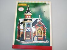 Lemax Sears Exclusive Porcelain Lighted Holy Trinity Chapel Church