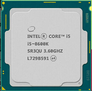 Intel Core i5 8600K 3.6 GHz LGA 1151 Hexa-Core Processor (BX80684I58600K )