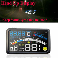 5.5'' Universal OBD2 Car GPS HUD Head-up Display Overspeed Warning System Kit