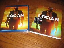 Logan: Marvel (Blu-ray+DVD+Digital /3 Disc Limited Ed. B&W Noir] New + Fast Ship