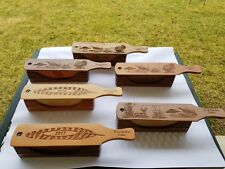 1 Amish Made Hand Crafted Box Turkey Call (With And Without Base Handles)