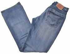 LEVI'S Mens Jeans W30 L34 Blue Cotton Bootcut  LI12