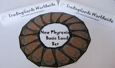 New Phyrexia Complete Basic Land Set // 15|15 // NM-EX // engl.