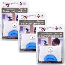 3x Alarm-Bewegungsmelder Tür & Fensteralarmsystem Sicherheitstechnik Alarmanlage