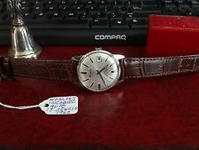 Vintage 1960 Wesley Incabloc 17-Jewels Watch w/ 18mm Genuine Leather Band!