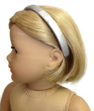 "Silver Headband made for 18"" American Girl Doll Clothes Accessories"