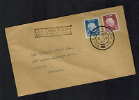1954 Ireland First Day Cover to Dublin FDC # 157 158 comp set