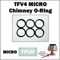 6 - TFV4 MICRO Chimney Sub Ohm Orings ( ORing O-Rings Seals smok ) LEAKBUSTERS!