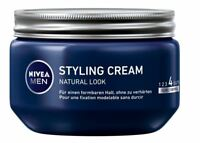 NIVEA MEN HAIR AQUA STYLING CREAM HAIR NATURAL LOOK ORIGINAL FROM GERMANY