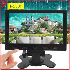 "Mini 7"" TFT LCD CCTV Monitor HD 1024*600 PC Bildschirm HDMI/VGA/AV Eingang 16:9"