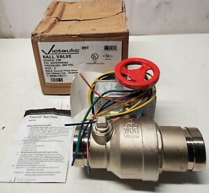 """Victaulic FireLock 728 Weatherproofed Grooved Ball Valve Actuator-2""""-V020728CT1"""