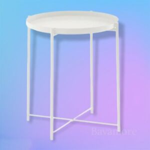 """IKEA GLADOM with removable Top Tray table, white, 17 1/2x20 5/8 """" BRAND NEW-"""