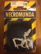 Necromunda Pit Slave Techno New  In Blister Metal Warhammer 40k