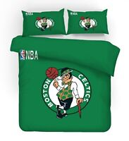 3D NBA Boston Celtics Quilt Cover Comforter Cover Single/Queen/King 3pcs 23