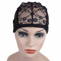 Wig Cap for Making Wigs Weave Elastic Lace Hair Snood Mesh Adjustable Straps