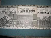 Fascismo-L'ITALIA NUOVA N° 1-2-3 - EDIZIONE PARAVIA