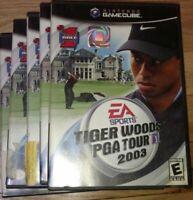 TIGER WOODS PGA 2003 - NINTENDO GAMECUBE - COMPLETE W/MANUAL - FREE S/H (G10)