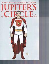 Jupiter's Circle #2 Frank Quitely Variant Cover Mark Millar Image Comics 2015