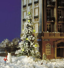 Busch 5409 NEW HO SNOW COVERED XMAS TREE & LED LIGHTS