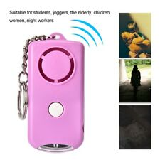 Panic Alarm Anti-Theft Alarm 120dB Keys Chain LED Light Portable Person Attack