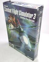 Microsoft Combat Flight Simulator 3 Battle For Europe PC Game Complete