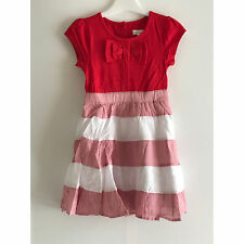 Pumpkin Patch Girl's Vestido De Rayas tejida empalmado de punto-Size UK 3 años