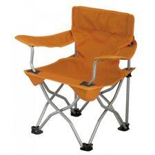 Eurotrail Foldable Camping Garden Fishing  Chair For Kids Orange 54x35x80 cm